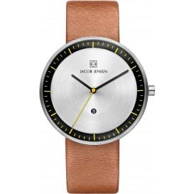 "Watch 271 Stainless Steel Jacob Jensen ""strata"" Horloge"