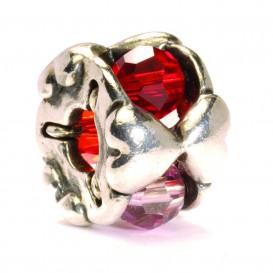 Trollbeads bedel zilver Valentijn TAGBE-00103