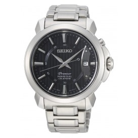 Seiko Premier herenhorloge Quartz Analoog 41,5 mm SNQ159P1