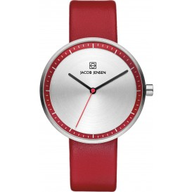 "Watch 283 Stainless Steel Jacob Jensen ""strata"" Horloge"