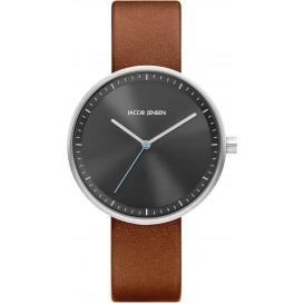 "Watch 285 Stainless Steel Jacob Jensen ""strata"" Horloge"