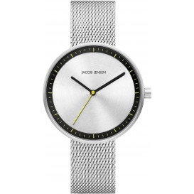 "Watch 287 Stainless Steel Jacob Jensen ""strata"" Horloge"