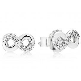 Pandora 290695 Oorbellen zilver Infinity Love
