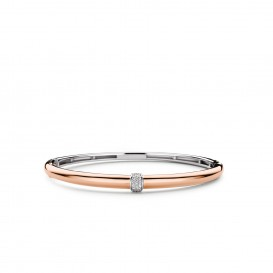 TI SENTO - Milano Armband 2913ZR Zilver rose plated