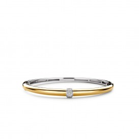 TI SENTO - Milano Armband 2913ZY Zilver gold plated