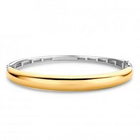 TI SENTO-Milano 2915SY Armband Bangle zilver- en goudkleurig 60 mm
