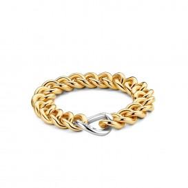 TI SENTO - Milano Armband 2922SY Zilver gold plated