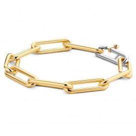 TI SENTO - Milano Armband 2926SY zilver goudkleurig 20 cm