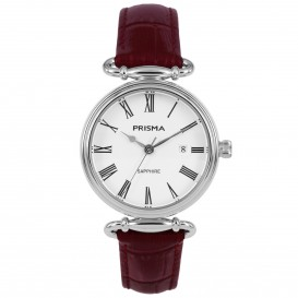 Prisma horloge 1930 dames edelstaal saffierglas 5 ATM P.1930 Dameshorloge 1