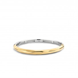 TI SENTO - Milano Armband 2942SY Zilver gold plated 50 x 60 mm