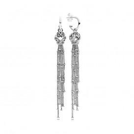 Pandora Oorbellen zilver Enchanted Tassel 297115