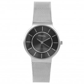 Prisma horloge 1807 Dames Icon Design Edelstaal P.1807 Dameshorloge 1
