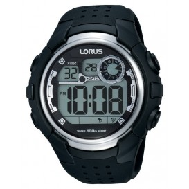 Lorus Herenhorloge Digitaal Zwart R2385KX9