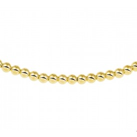 TFT Collier Geelgoud Bolletjes 4,0 mm 45 cm