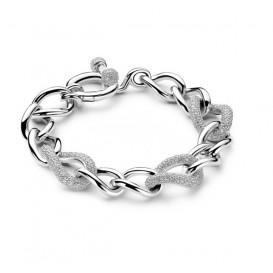 TI SENTO-Milano 2441ZI Armband zilver met zirconia 20 cm