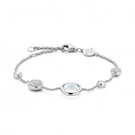 TI SENTO - Milano 2901ZI zilveren armband met zirkonia 18-21 cm