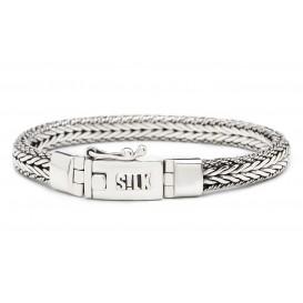 SILK Jewellery Armband zilver Shiva 19 cm 322