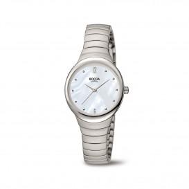 Boccia Titanium 3307.01 horloge Titanium Zilverkleur Dames 1