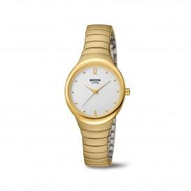 Boccia Titanium 3307.02 horloge Titanium Goudkleur Dames 1