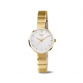 Boccia Titanium 3308.03 horloge Titanium Goudkleur Dames 1