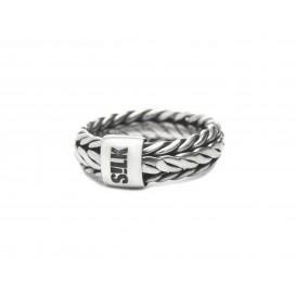 Silk Jewellery 341-18,5 Ring zilver Maat 58 is 18.5mm