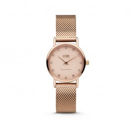 CO88 Collection 8CW-10063 - Horloge - mesh band - rosékleurig - ø 24 mm