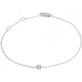 TFT Armband Witgoud Diamant 0.05ct H SI 1,0 mm 15-16,5-18 cm