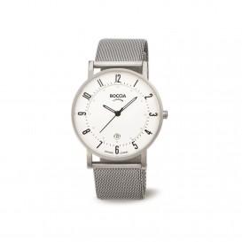 Boccia Titanium 3533.04 horloge - Staal - Zilverkleurig - 37 mm 1