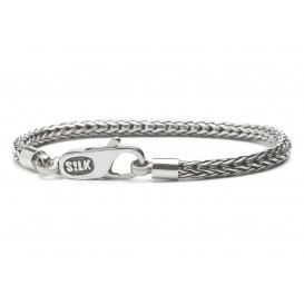 SILK Jewellery Armband zilver 'Shiva' 19 cm 354