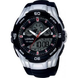 Lorus Digitaal Herenhorloge Zwart R2387JX9