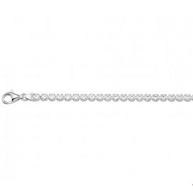Tennisarmband Zilver Zirkonia 3,2 mm 18 cm