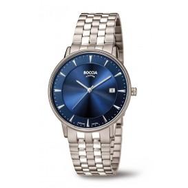Boccia Titanium 3607-03 Horloge titanium zilverkleurig