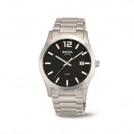 Boccia Ttanium 3619.02 horloge - Titanium - Zilverkleurig - 40 mm 1