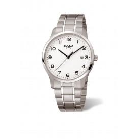 Boccia Titanium 3620.01 horloge - Titanium - Zilverkleurig - 39 mm 1