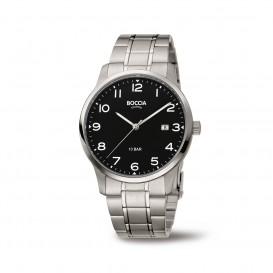 Boccia Titanium 3621.01 horloge - Titanium - Zilverkleurig - 40 mm 1