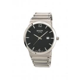 Boccia Titanium 3623.02 horloge - Titanium - Zilverkleurig - 38 mm 1