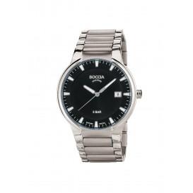 Boccia Titanium 3629.01 horloge - Titanium - Zilverkleurig - 39 mm 1