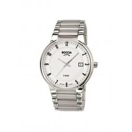 Boccia Titanium 3629.02 horloge - Titanium - Zilverkleurig - 39 mm 1
