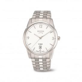 Boccia Ttanium 3632.01 horloge - Titanium - Zilverkleurig - 39 mm 1