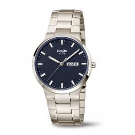 Boccia 3649-02 Horloge Titanium Saffierglas 39 mm 1