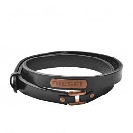 Diesel DX1093221 lederen armband