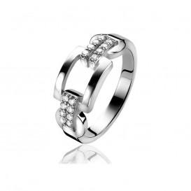 Zinzi by Mart Visser MVR4 Ring zilver met zirconia Maat 58