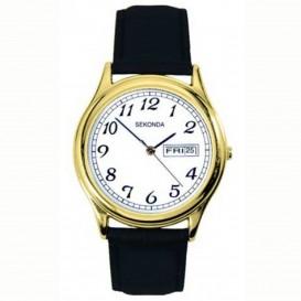 Sekonda Horloge 3925 Leer | datum SEK.3925 Herenhorloge 1