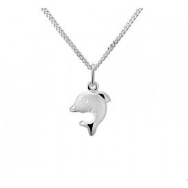 TFT Zilveren Ketting Dolfijn 1,4 mm 36 + 4 cm
