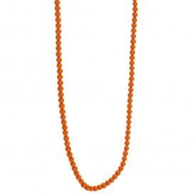 TI SENTO-Milano 3962CO Ketting Beads zilver-kleursteen cognac 3 mm 80 cm