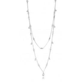 Pandora Ketting zilver Chandelier Droplets 45 cm 397084CZ