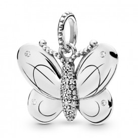 Pandora 397933CZ Hanger zilver Decorative Butterfly