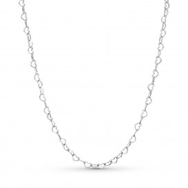 Pandora 397961 Ketting zilver Joined Hearts 60 cm