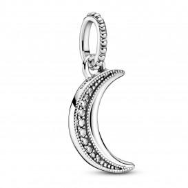 Pandora 399184C01 Hanger Sprankelende Halve Maan zilver