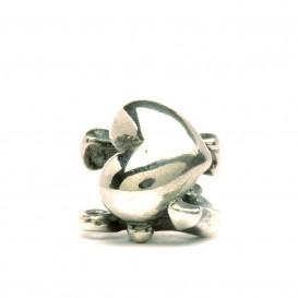 Trollbeads bedel zilver Geloof, Hoop en Liefde TAGBE-10052